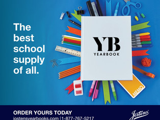 Order Yearbook by Friday, Get Four Free Cover Icons