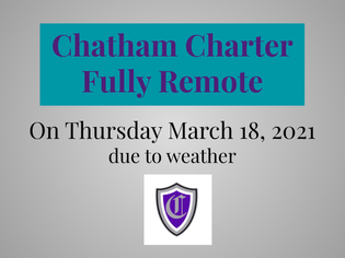 Fully Remote Instruction Day Thursday, March 18, 2021