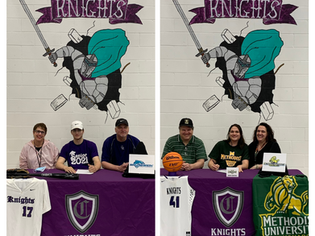 Chatham Charter Seniors Sign to Play Collegiate Athletics