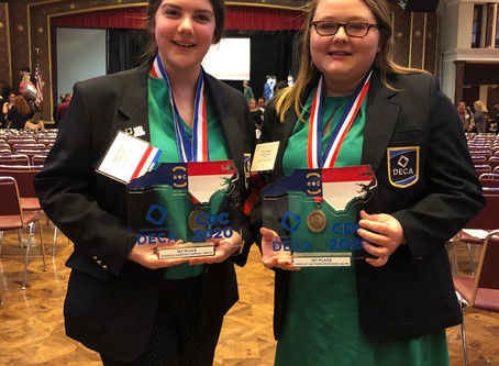 Chatham Charter DECA Chapter Successful in 2020 State Competitions