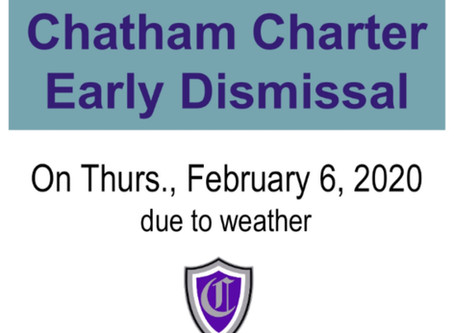 Early Dismissal - Weather - February 6, 2020