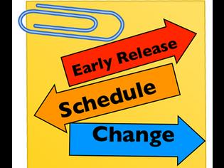 Calendar Change: Early Dismissal Friday, October 4