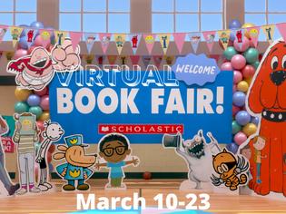 Virtual Book Fair March 10-23