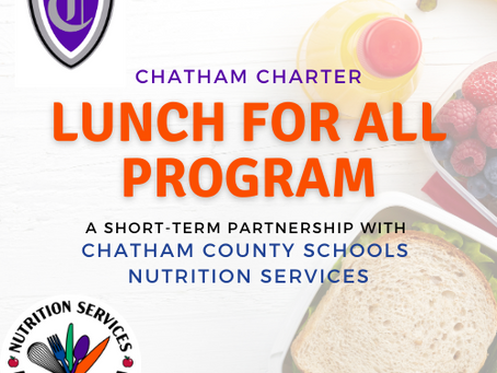 Lunch for All: Short-term partnership for all K-12 students