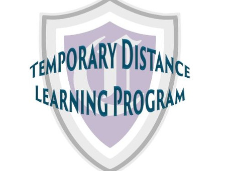 Temporary Distance Learning Program Launched