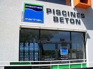PISCINE BÉTON MARINAL
