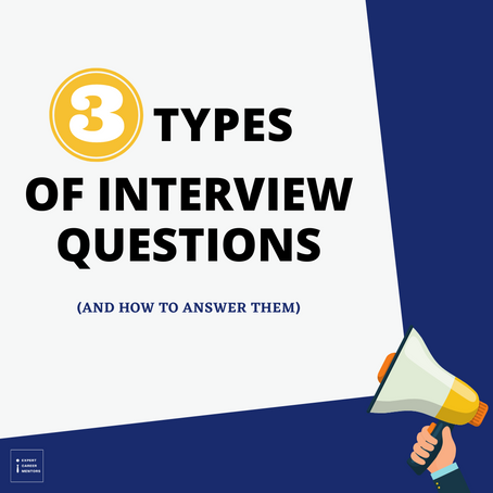 3 types of interview questions and how to answer them