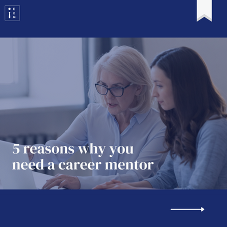 5 Reasons Why You Need a Career Mentor