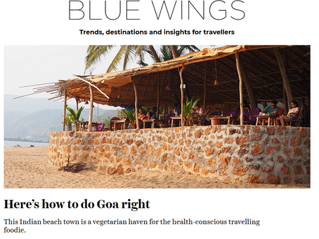 Blue Wings Finnair - Here's how to do Goa right