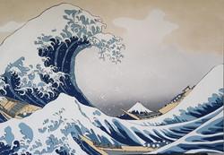 D'après Hokusai