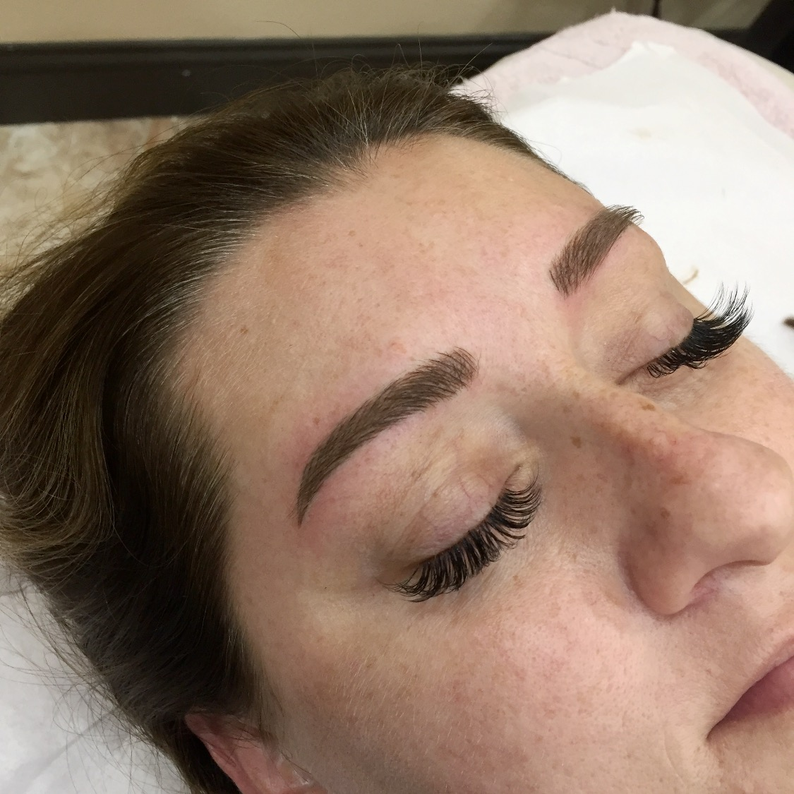 Eyelash Extensions, Brow Tint, Wax