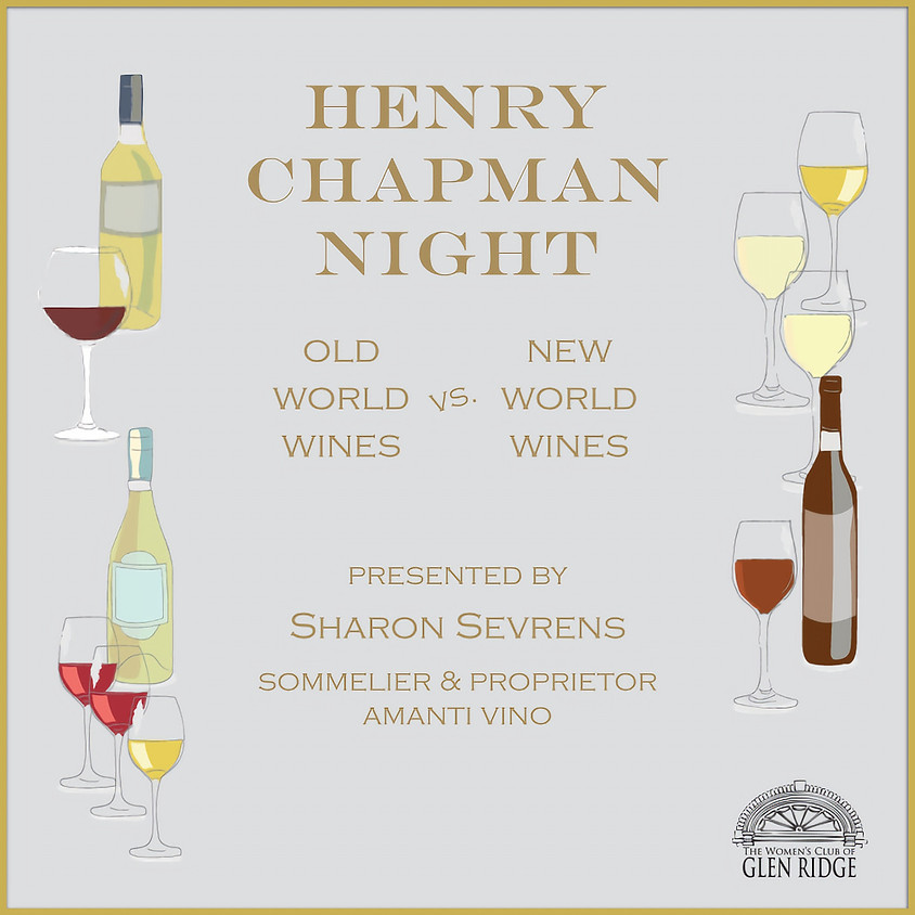 Henry S. Chapman Night - SOLD OUT