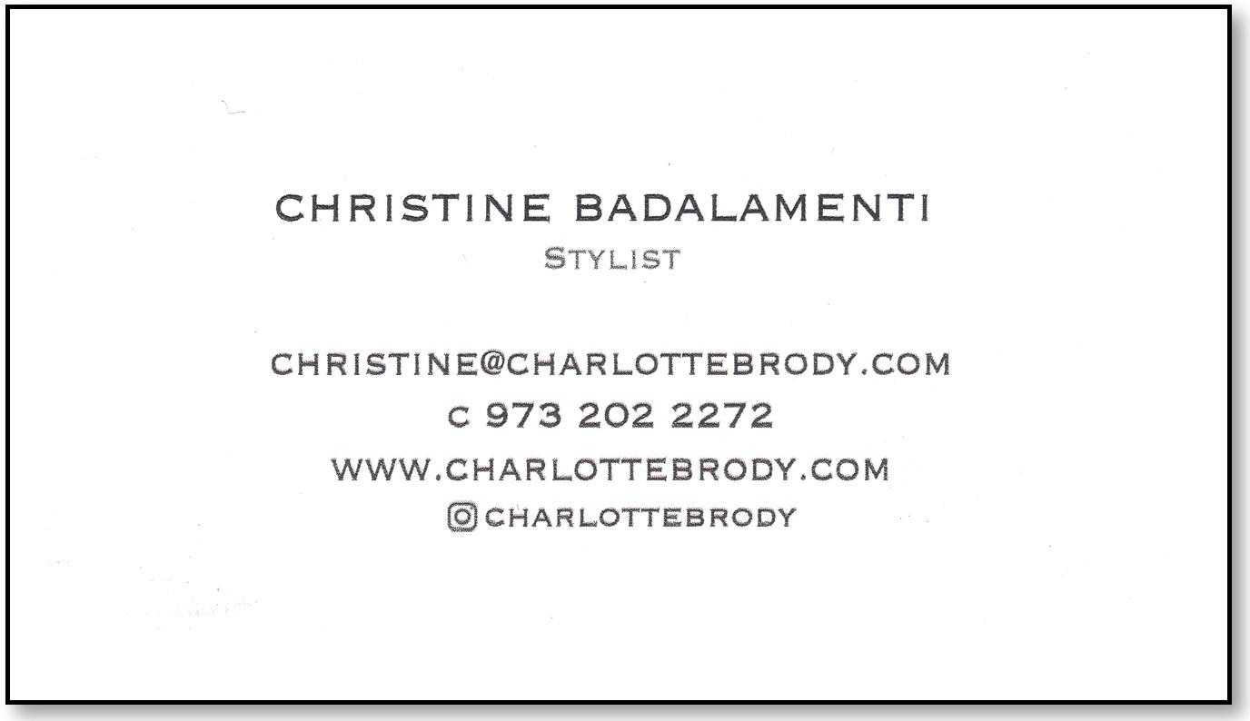 Christine Badalamenti