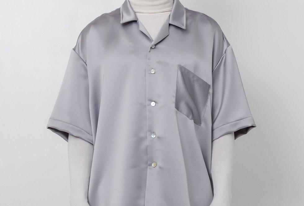 Satin shirt - Silver