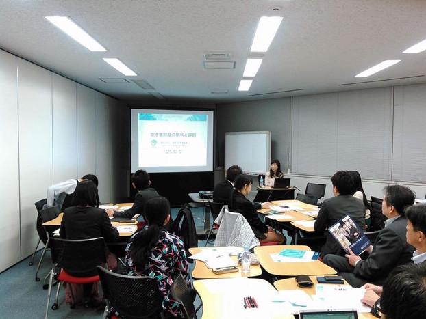 第3回品川塾で空き家について講演とワークショップを開催しました@多摩大学大学院