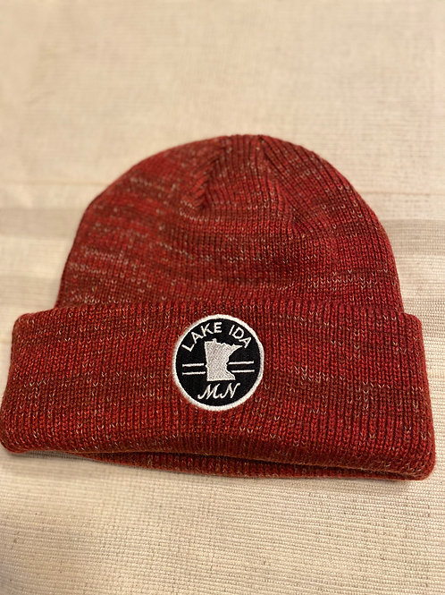 Beanie -Cardinal or Grey Colored