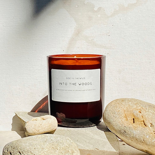 Into the Woods organic candle