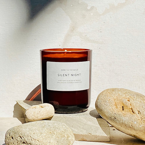 Silent Night organic candle