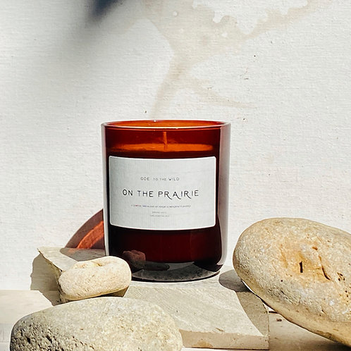 On the Prairie organic candle