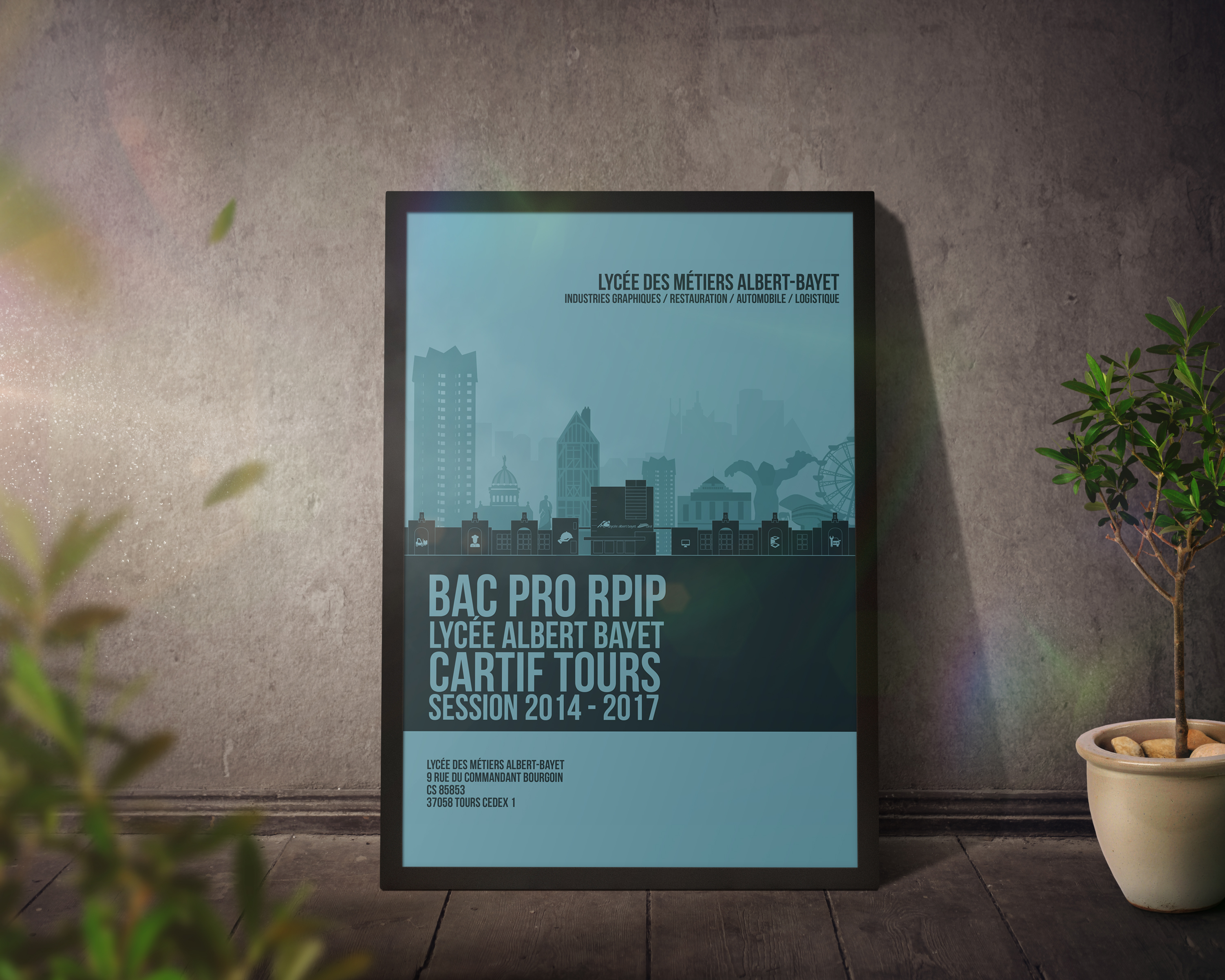 Poster New Bac Pro