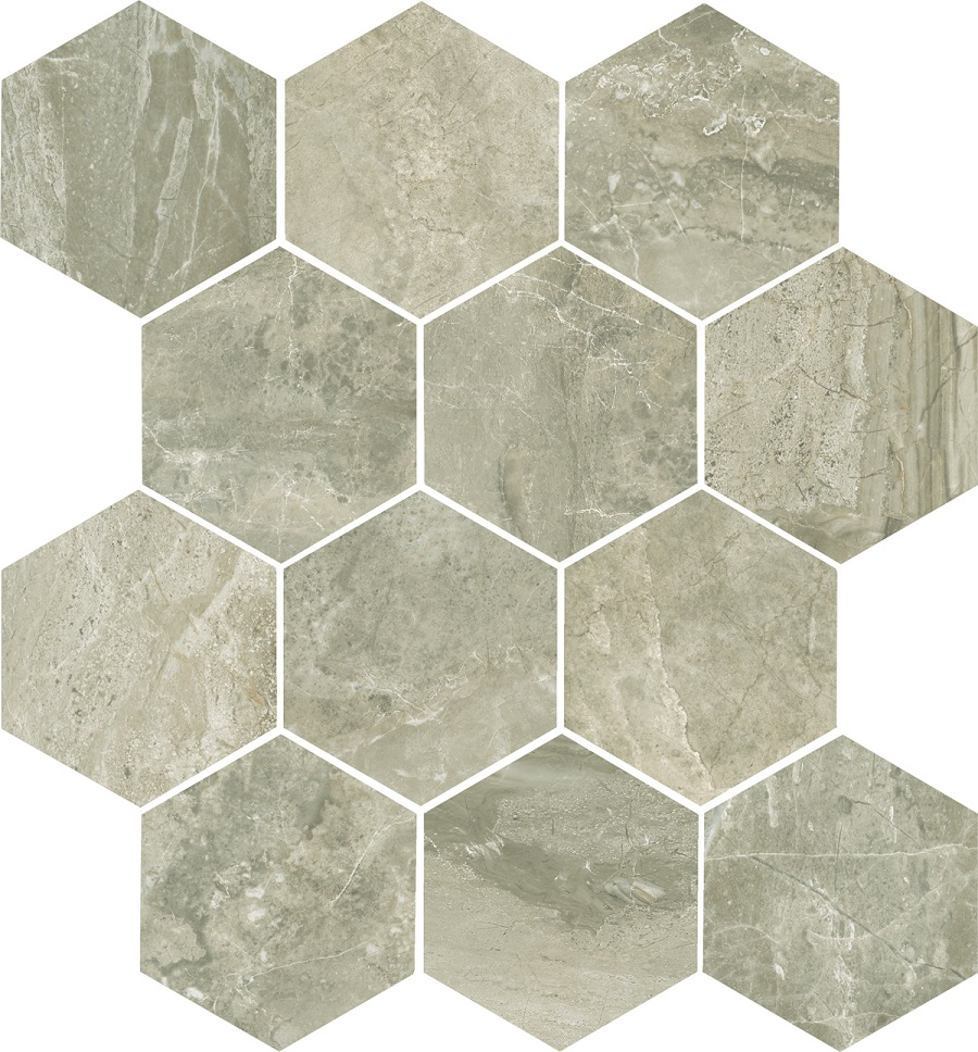 Anthology Walnut Hex Mosaic