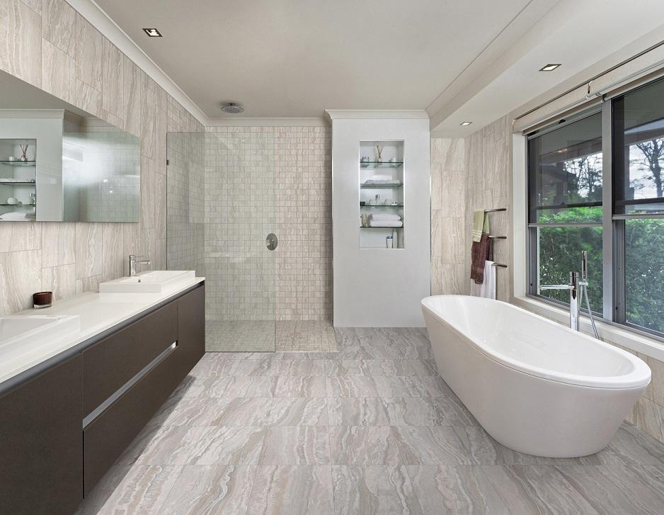 Taormina Beige-Grigio Bathroom
