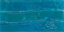 Turquoise Wave Mosaic