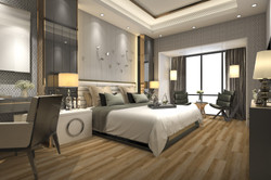 Timberlux Golden Oak Room Scene