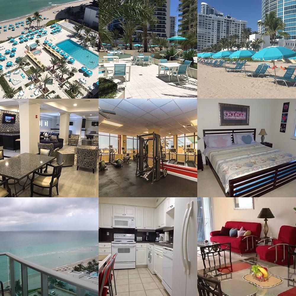 Аренда квартиры в Майами The Wave 1/1 bed room