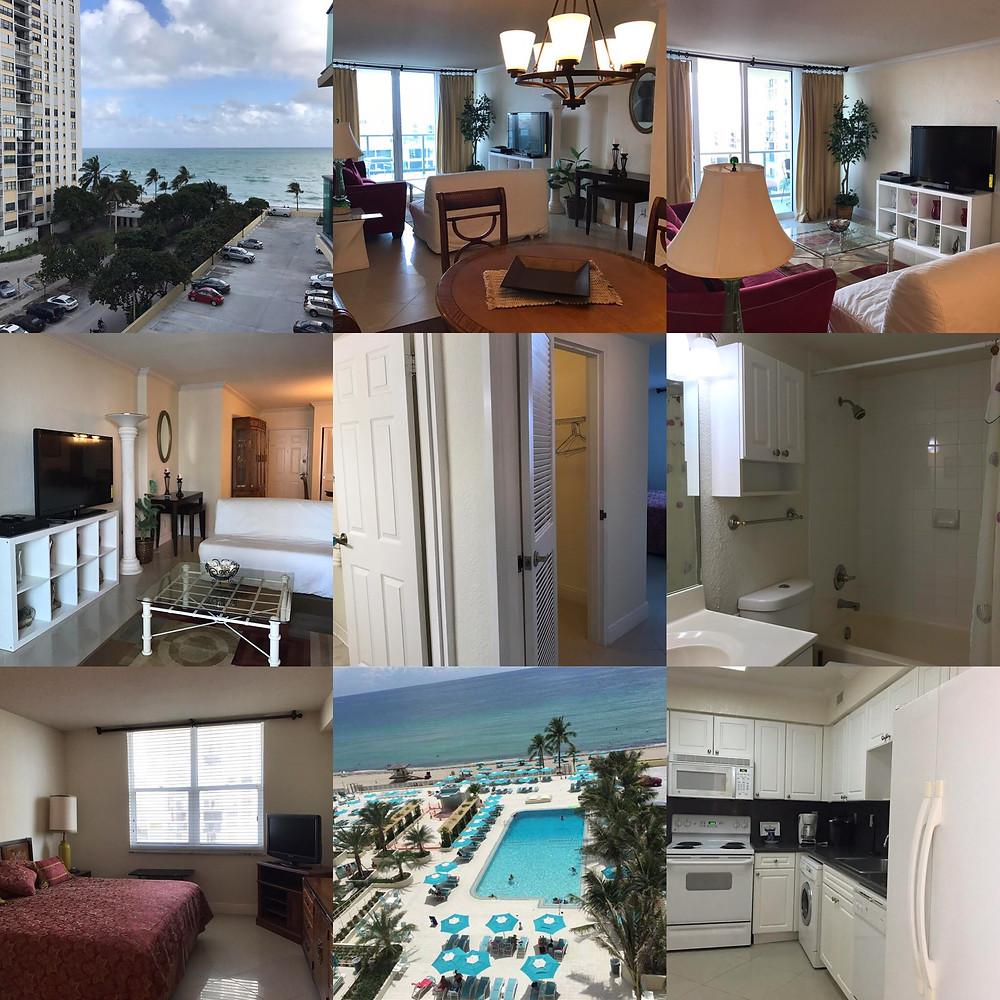 Аренда квартиры в Майами The Wave 2501 S Ocean Dr Hollywood Beach