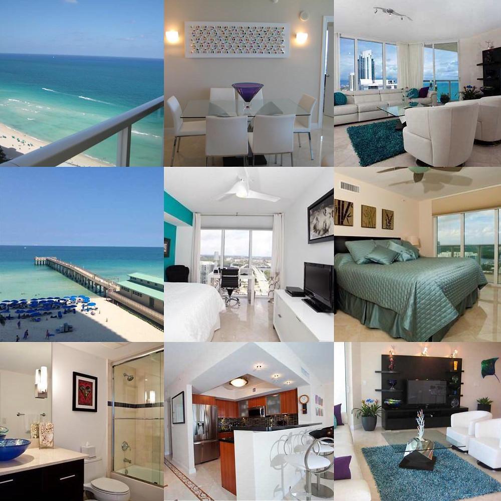 Аренда квартиры в Майами La Perla 2/2 bed Sunny Isles Beach