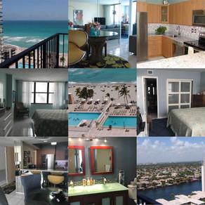 Quadomain 2/2 bed 2401 Ocean Dr. Hollywood Beach 2600$