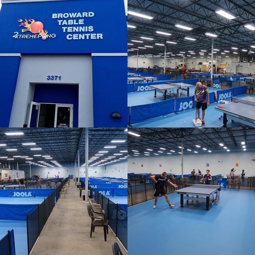 Настольный теннис в Майами - Table Tennis Miami