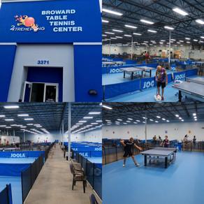 Настольный теннис в Майами -Table Tennis Miami