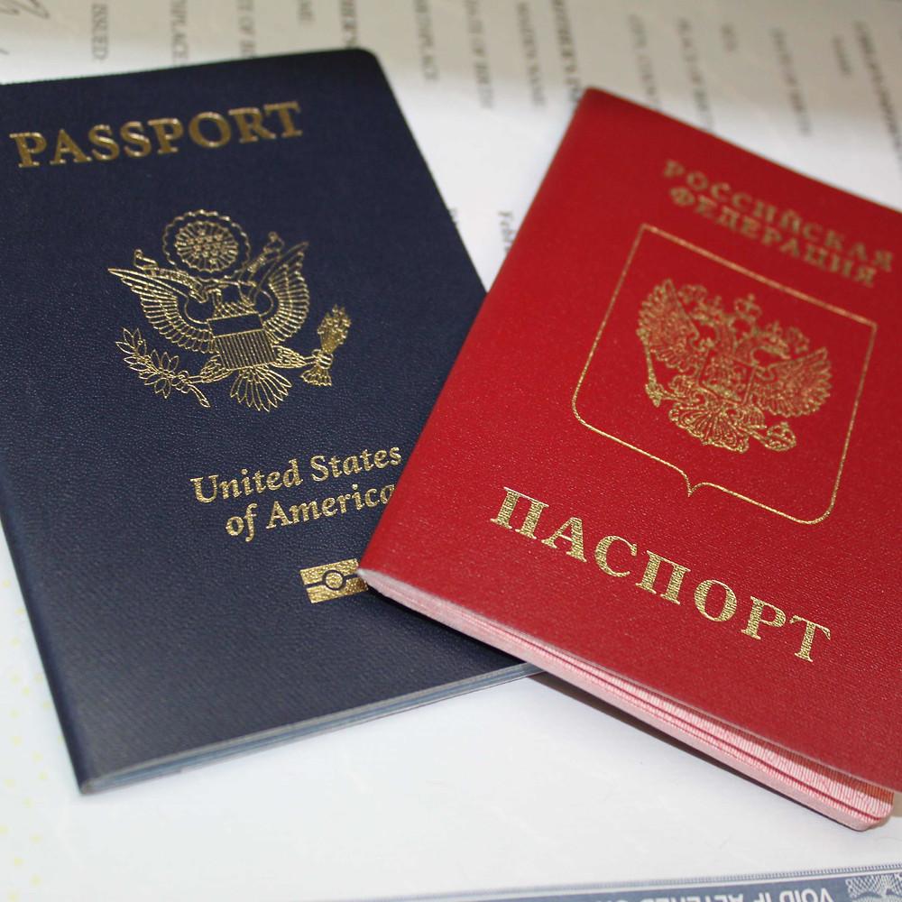 Загранпаспорт и гражданство РФ новорожденным в США