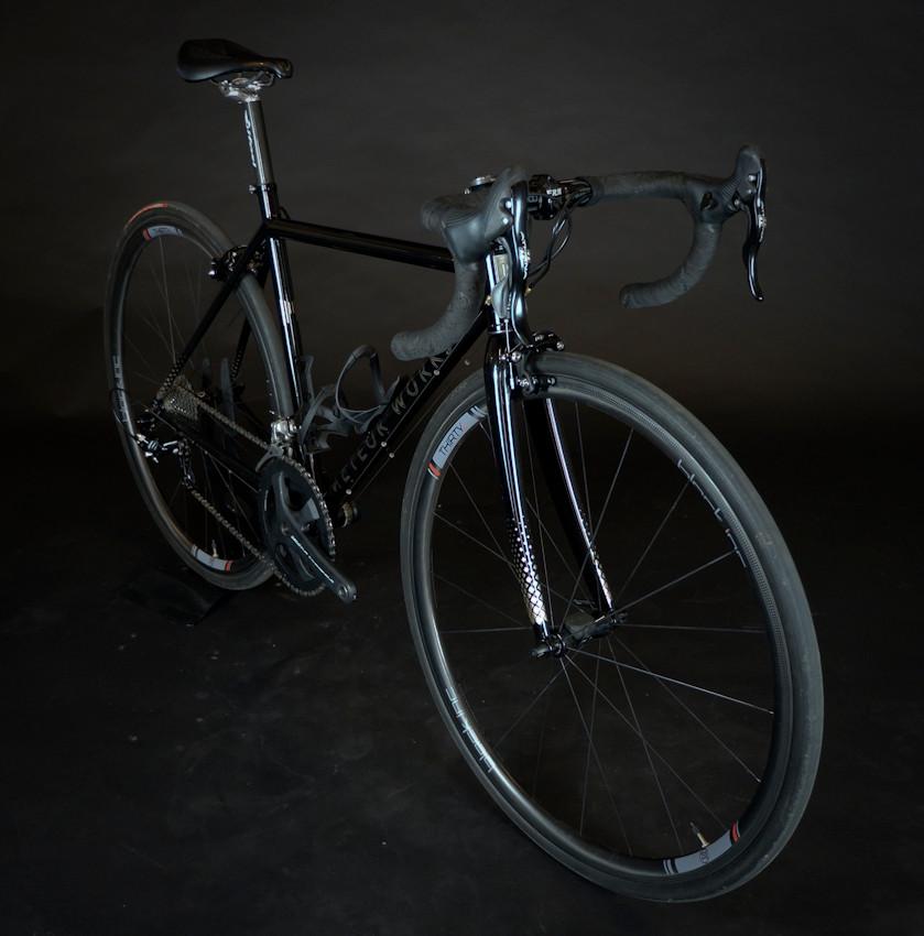 Jo's New Road Bike
