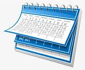 20-204081_blue-and-white-calendar-blue-c