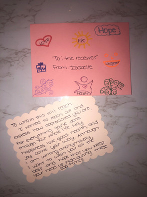 Isabelle's Letter