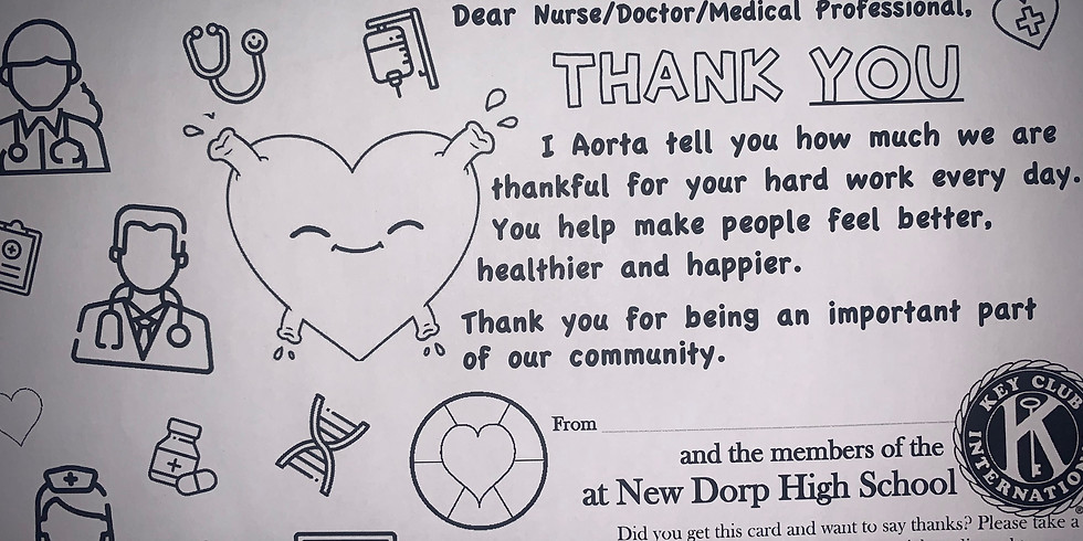 Thank You Cards for Nurses, Doctors, Medical Officials!