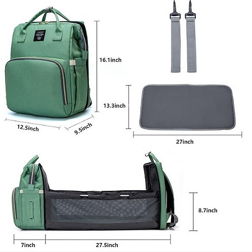 Expandable Back Pack