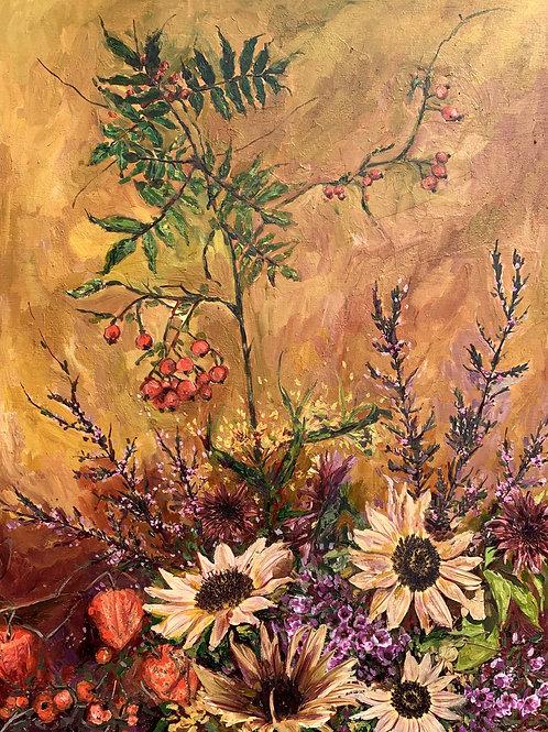 """Floral 8""(Stela Mandrak-Pagani)"