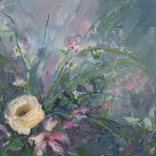 """Floral 4""(Stela Mandrak-Pagani)"