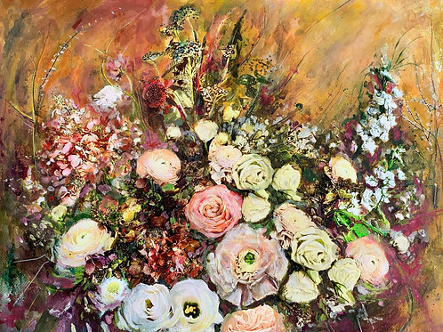 """Floral 5""(Stela Mandrak-Pagani)"
