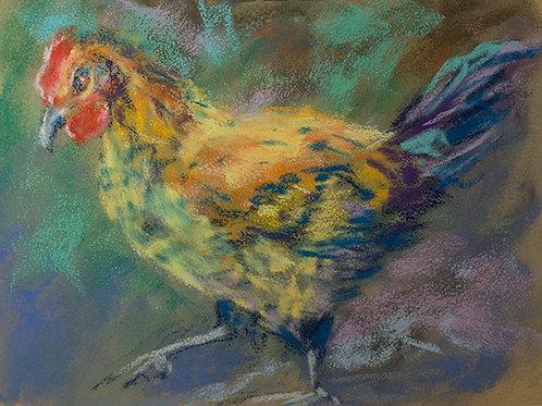 """Chicken""(Lynne Bedbrook)"