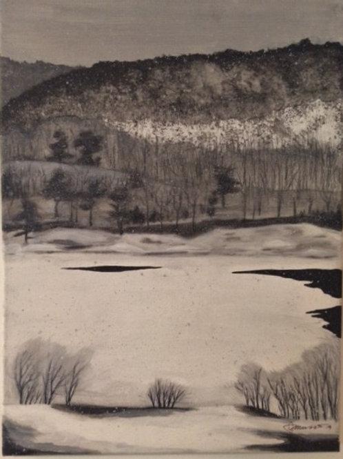 """""""Taylor Lake 3""""(Jamie Munro)"""