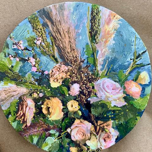 """Floral 14""(Stela Mandrak-Pagani)"