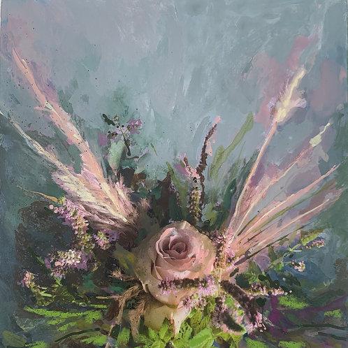 """Floral 3""(Stela Mandrak-Pagani)"