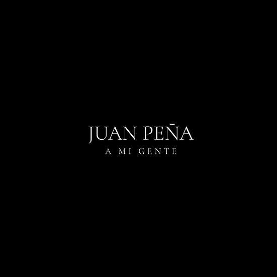 "Reservar ""A MI GENTE"" JUAN PEÑA USB CARD (2021)"