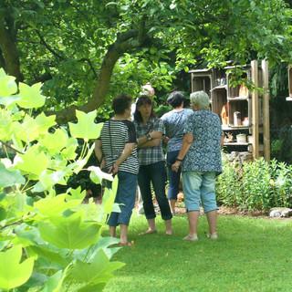Garten 10:  Wir sind im Garten