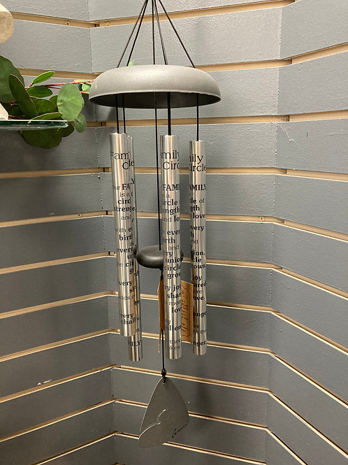 """30"""" Wind Chime Family Circle"""